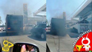 Photo of #Denunciamesta Camión de la Pepsi echa más humo que chimenea y contamina