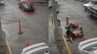 Photo of #Video En Sinaloa Familia Viajaba En Moto Y Es Embestida Por Auto