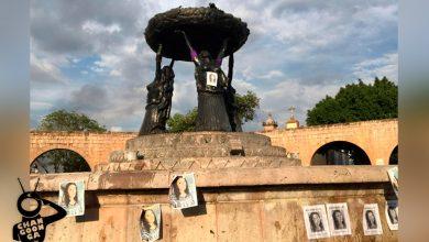 Photo of #Morelia Pintan Con Gis Palacio De Gobierno Y Las Tarascas Con Fotos De Nilda