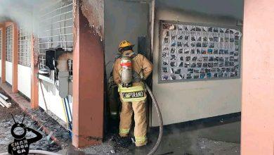 Photo of #Michoacán Se Incendia Taller De La Secu Gildardo Magaña En Purépero