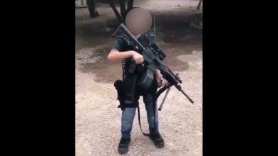 Photo of #Video Otro Morrito Sicario Lanza Amenazas Mientras Posa Con Metralleta