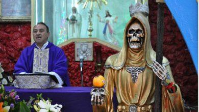 Photo of Es Pecado Grave Ser Católico Y Adorar A La Santa Muerte Advierten Sacerdotes