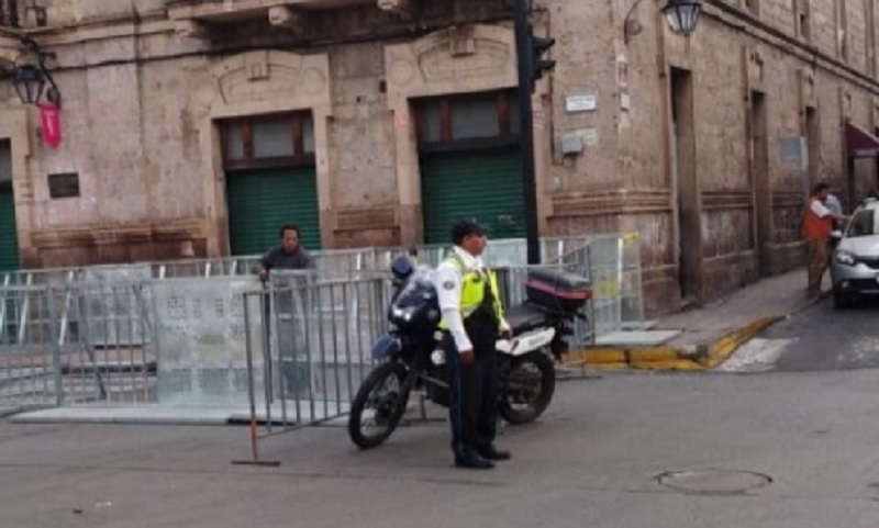 Morelia Amanecerá Cerrado 1er Cuadro Del Centro Por Informe De Silvano