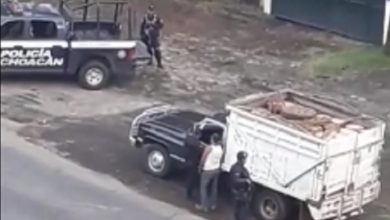 Photo of #VIDEO Exhiben Presunta 'Mordida' De Talamontes A Agentes de Policía Michoacán