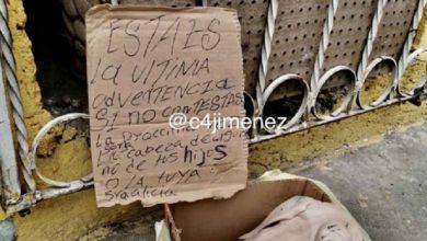 Photo of Pasa En México: Dejan Mensaje Extorsionador A Doña Pelos Por Venta De Quesadillas