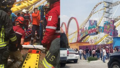 Photo of #CDMX Accidente En Montaña Rusa De Feria De Chapultepec Deja 2 Muertos Y 5 Heridos