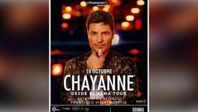 Photo of ¡Desde El Alma! Chayanne Regresa A Tierra Moreliana, Este 19 De Octubre