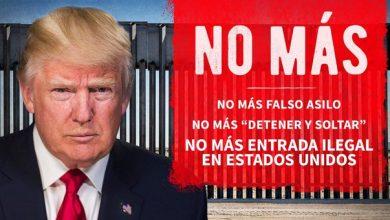 """Photo of Con Twit En Español, Trump Exige Alto A Migración: """"No Más Entrada Ilegal A EU"""""""