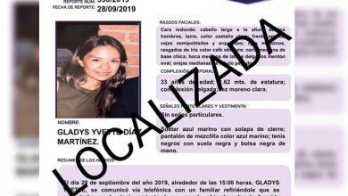 Photo of #Morelia Localizan A Gladys Y Desactivan Alerta Alba