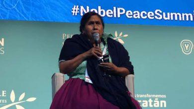 Photo of Juanita, Cocinera Tradicional Representa A Michoacán En Cumbre De Premios Nobel De La Paz