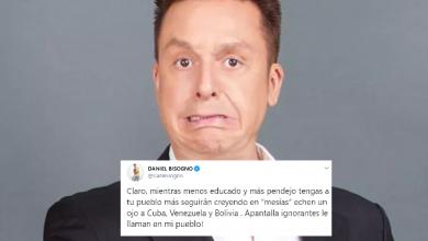 """Photo of Mientras Más Pendejo Esté El Pueblo, Seguirán Creyendo En """"Mesías"""": Daniel Bisogno"""