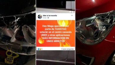 Photo of #Morelia Anuncian Mega Cacería De Taxistas Vs Uber Esta Noche En Centro Histórico