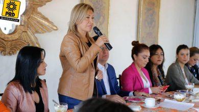 Photo of Mujeres Del PRD Van A Refrendar Gubernatura Michoacana 2021
