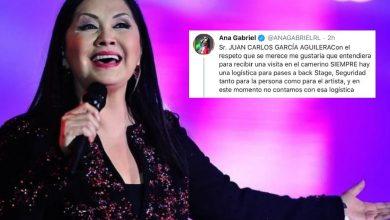Photo of Previo A Concierto En Morelia, Ana Gabriel Rechaza Convivencia Con Fan Desahuciada
