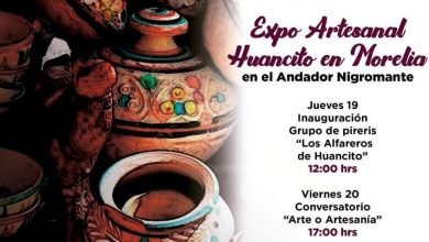 "Photo of Secultura Invita A La ""Expo Artesanal Huancito En Morelia"""