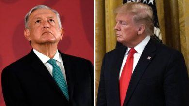 """Photo of Trump Agradece A AMLO Apoyo En La Frontera: Está Mostrando """"Gran Respeto"""" A EU"""