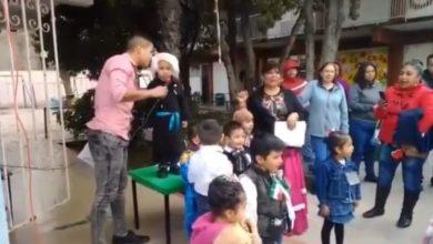 """Photo of #Video Pequeño Hidalgo Grita """"¡Viva Su Jefa!"""" Y Se Viraliza"""