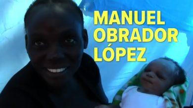 """Photo of #Video Nace Bebé De Migrantes Africanos Y Lo Nombran """"Manuel Obrador"""""""