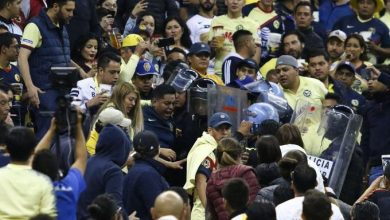 Photo of #Video Se Armaron Los Trancazos, Afición De Pumas Agrede A Americanistas