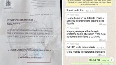 Photo of #Michoacán De La Fiscalía Filtran Documentos Para Mostrar Corrupción De Mando Ministerial