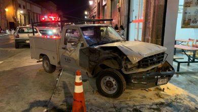 Photo of #Morelia Camioneta Se Estampa Frente A La Inmune Pero Sin Pedos Reportan