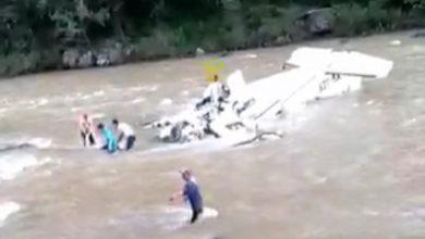 Photo of #DeShock Michoacán: Graban El Rescate De Los Cuerpos Tras Avionetazo En Villa Madero