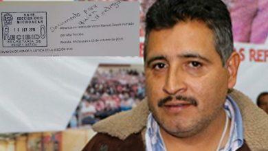 """Photo of Plop! CNTE Michoacán Denuncia A Su Propio Dirigente Por """"Traidor"""""""