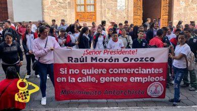 Photo of Estudiantes De Secu Acompañan A Antorchista Por Oportunidad Laboral En Morelia