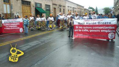 Photo of #Morelia Otra Vez, Antorchistas Se Movilizan Sobre Avenida Madero