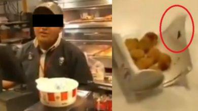 Photo of #Video ¡Asco! Poblano Encuentra Cucaracha En Su Comida De KFC