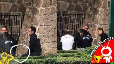 Photo of #Denúnciamesta Cachan a empleados del SEMACN pistiando con el uniforme