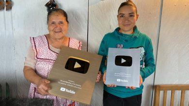 Photo of #OrgulloMichoacano Doña Angelita Recibe Reconocimientos De Youtube