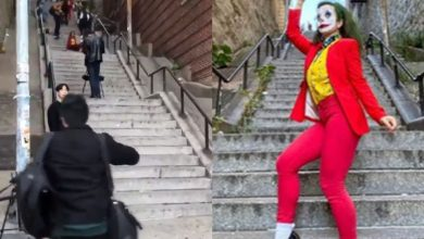 Photo of #Video Cientos De Jokers Van A Tomarse Fotos A Escaleras