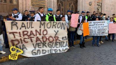Photo of #Morelia Habitantes De Jesús Del Monte Dicen Defenderán Con Todo A Su Jefe De Tenencia