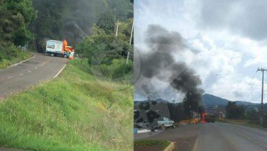Photo of En La Salvador Escalante-Ario De Rosales Pobladores Incendian Carros