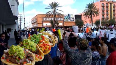 Photo of ¡Una Manifestación Con Todo! Taqueros Protestan En Reynosa Por Nuevos Impuestos
