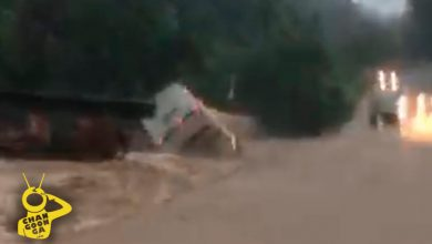 Photo of #Video Corriente Arrastra A Autobús De Pasajeros En Coahuayana