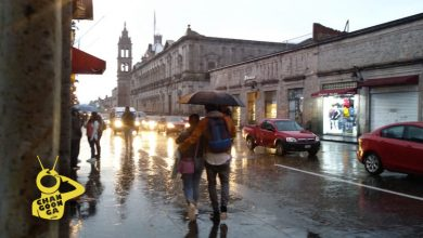 Se esperan lluvias en Morelia
