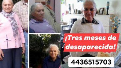 Photo of Hoy Cumple 3 Meses De Desaparecida Abuelita Moreliana