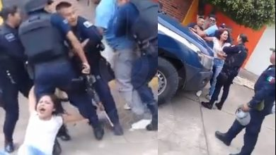 Photo of #Video Graban Presunto Abuso De Autoridad De Policías En Tangamandapio