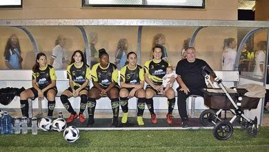 Photo of #Video A Mitad Del Entrenamiento Futbolista Amamanta A Su Bebé