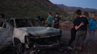 Photo of Familiares De LeBarón Aseguran Que Dispararon E Incendiaron A Propósito Camioneta De Rhonita