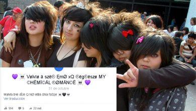 Photo of Resurgen Los Emos En Redes Sociales Junto Con My Chemical Romance