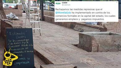 Photo of #Morelia Empresarios Fijan Postura Por Retiro De Anclajes Del Ayuntamiento