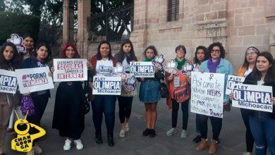 "Photo of #Morelia Feministas Se Pronuncian A Favor De Ley Olimpia Para Castigar ""Porno Venganza"""