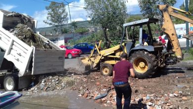 Photo of #Morelia Transportistas Bachean Laterales De Salida Quiroga Pa' Poder Transitar