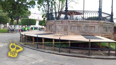 Photo of #Morelia Comienza Montaje De Nacimiento Monumental En Plaza De Armas