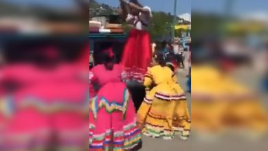 Photo of #Video Adelitas Perrean Intensamente Tras Desfile De La Revolución