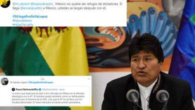 Photo of Mexicanos Sacan #SiLlegaEvoSeVaLópez Y #EvoNoEresBienvenido Ante Posible Asilo Político