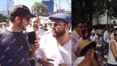 """Photo of #Video Reportero Denuncia Que En """"Marcha Fifí"""" Lo Corrieron Por """"Chayotero"""""""